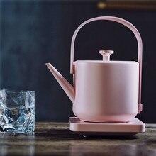 ใหม่ XiaoTi Retro ไฟฟ้ากาต้มน้ำ 600ml สแตนเลสสตีลที่ใช้ในครัวเรือน Commercial ไฟฟ้า 1200W ต้มกาน้ำชาที่สวยงาม