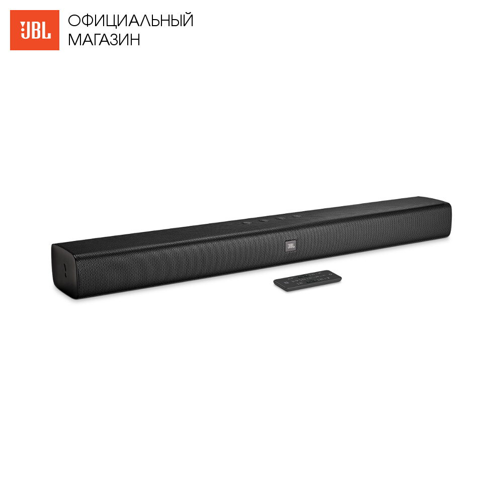 Home Theatre System JBL BARSBLKEP Electronics Audio music centre subwoofer Video sound bar wireless acoustic system 2.0