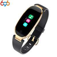 696 S3 Colorful Smart Bracelet Bluetooth Smart Band Wristband Heart Rate Monitor IP67 Waterproof Gift Smartband for Women