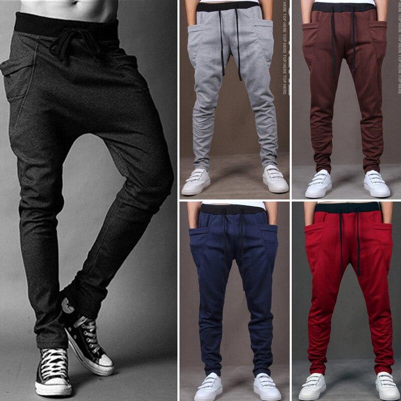 2016 Hot Selling Men Harem Pants Athletic Pants Casual Pants Trousers Men's Skinny Pants Wei Pants Men's