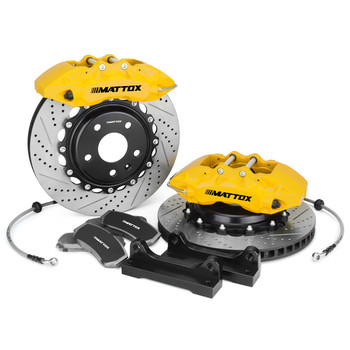 Mattox Big Brake Kit Car Racing 4POT Psitons with 330*28mm 355*32mm Brake Rotor FOR Toyota Supra 1993 1998