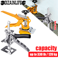 Labor-Saving Arm Hand Tool Adjustment Tile Leveling System Wall Tile Height Locator Board Cabinet Plaster Sheet Jack Lifter