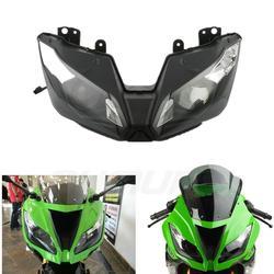 Reflektor motocyklowy zespół reflektorów dla KAWASAKI Ninja ZX 6R ZX6R ZX636 2013 2016 2014 2015 na