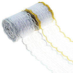 10yards of beautiful lace ribbon, 4.5cm wide, DIY Clothing /  floral accessories/Party decoration Wedding decoration lace