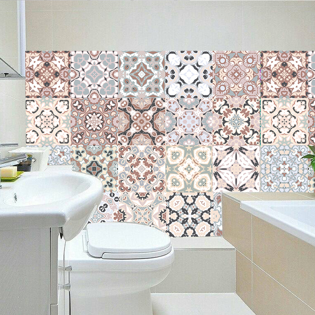 Arabic Style Mosaic Tile Stickers 2
