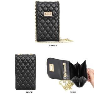 Image 5 - Echtes Leder Mode Designer Telefon Geldbörse Mini Schulter Tasche Qualität Schaffell Kleine Klappe Taschen Frauen Umhängetasche Messenger Taschen