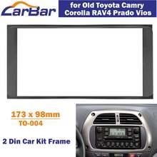 Автомагнитола carbar 2 din для старой toyota camry corolla rav4