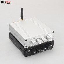 HIFIDIY LIVE A10 HiFi 2.0 Full Digital Audio Amplificatore di Potenza 100W Bluetooth 5.0 Indipendente Decodifica Interfaccia USB Dual TPA3116