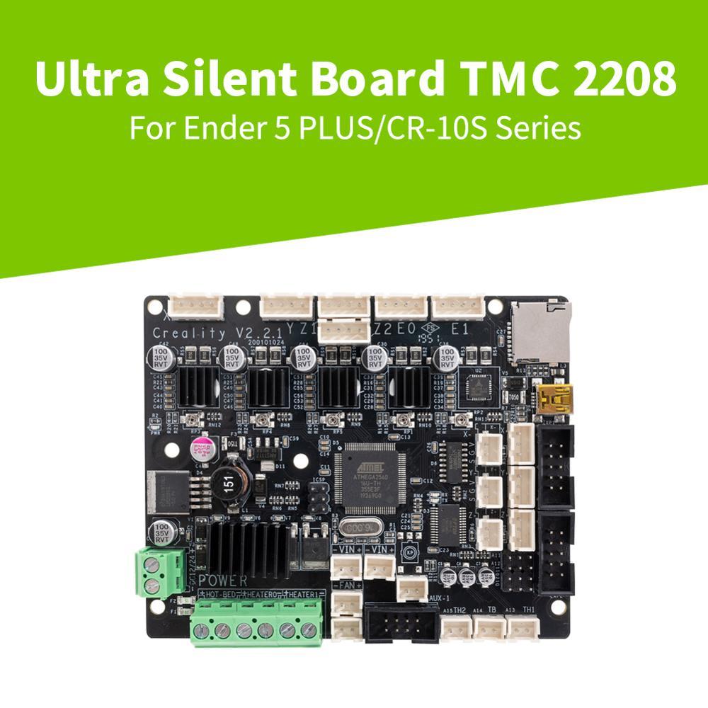 CREALITY 3D Parts 1 1 5 Silent Mainboard Motherboard TMC2208 Driver 3D printer Part Ender 5 PLUS CR-X Creality Printer