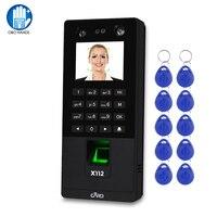 Tcp/ip/usb biométrico sistema de controle acesso facial software rfid suporte teclado impressão digital rosto senha comparecimento do tempo máquina|Dispositivo de reconhecimento de impressão digital| |  -