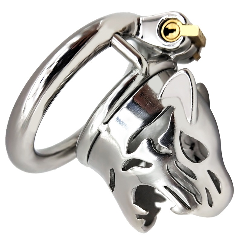 Stainless Steel Small Male Chastity Device Cock Cage <font><b>Cbt</b></font> <font><b>Sex</b></font> <font><b>Toy</b></font> Penis Lock Cb6000s Adult <font><b>Sex</b></font> <font><b>Toys</b></font> For Men Chastity Cage image