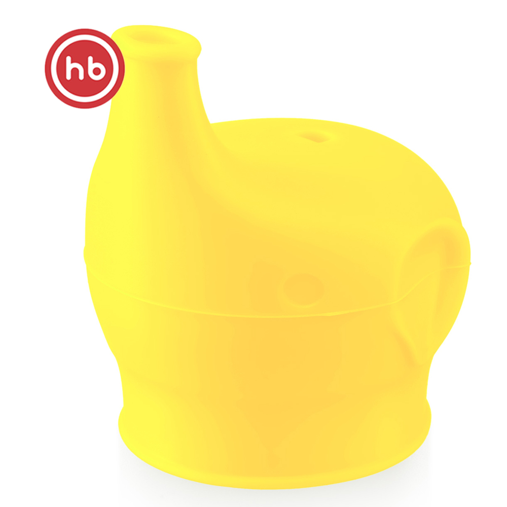 Bottles Happy Baby 15048 yellow feeding bottle drinking bowl nozzle for baby Silicon