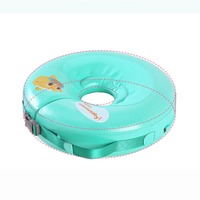 Safety non inflatable floating ring round circle neck swim accessoires swim trainer baby bath accessories kids swimming floats