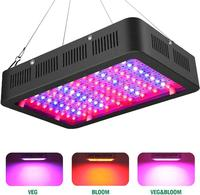 GloryStar 600W 60LEDs Dual Chip Full Spectrum Indoor Plant Grow Light AC85 265V Double Control Switch Style