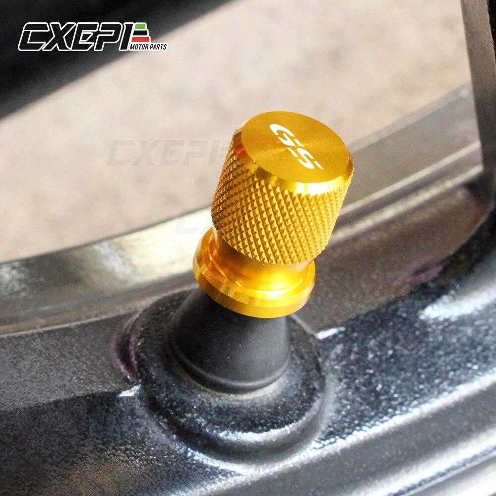 Image 2 - For BMW F750GS F850GS R1250GS R1200GS G310GS F650GS Motorcycle  Accessories Wheel Tire Valve Stem CNC Airtight Air Caps CoversCovers