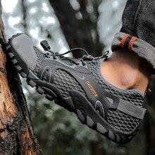 Homem mulher descalço sapatos de secagem rápida para água esportes ao ar livre e leve jogging fitness feminino zapatos formadores sapatos