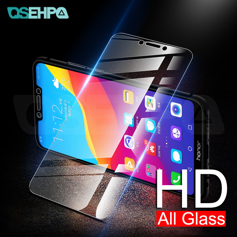 9H Tempered Glass On The For Huawei Honor 7A 7C 7X 7S Screen Protector Honor 8X 9X 8S 8A 8C 20S V30 Safety Protective Glass Film
