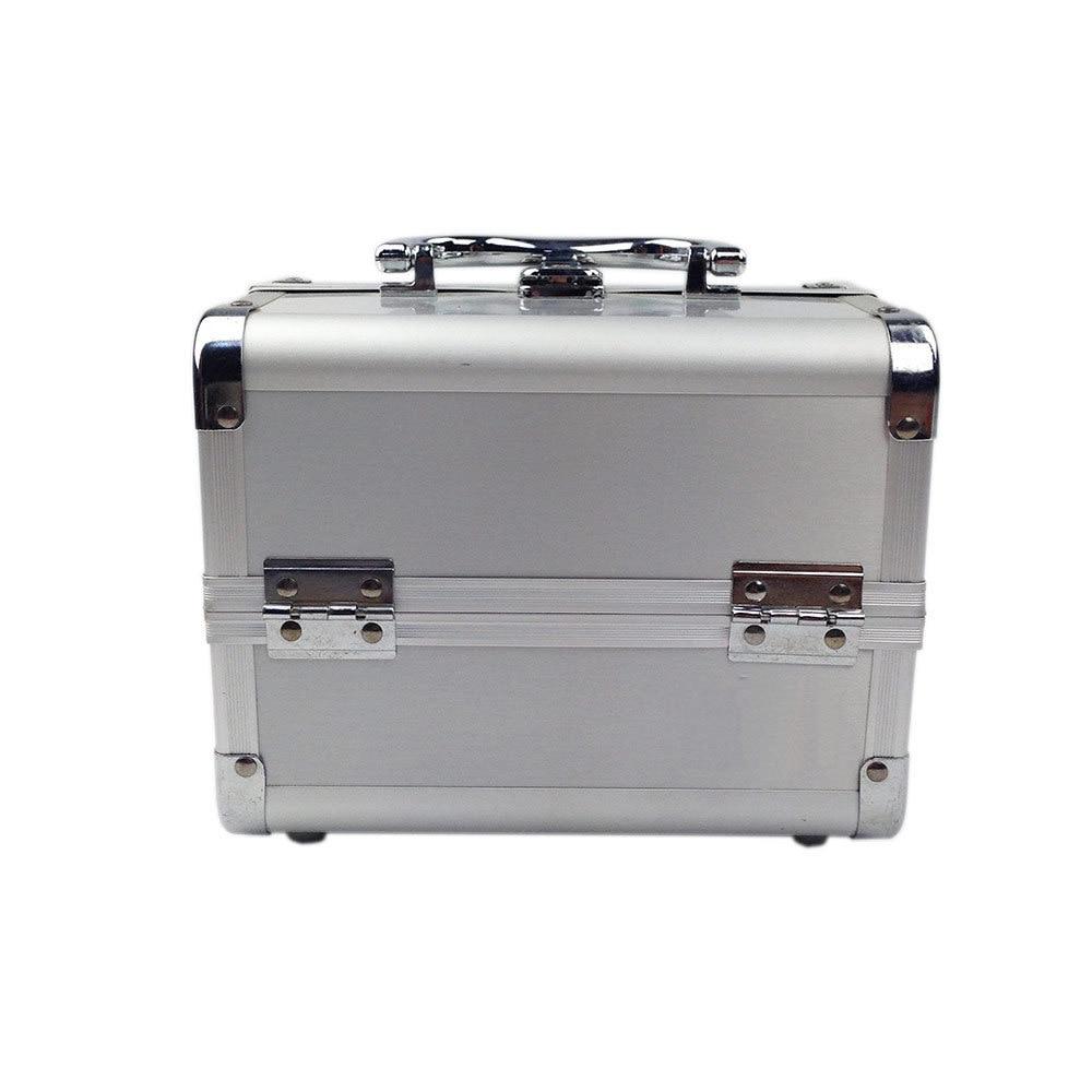 Europe And America Best Seller-Top Grade Makeup Box Aluminium Alloy Hand Makeup Storage Guangzhou Bag Manufacturers Direct Selli
