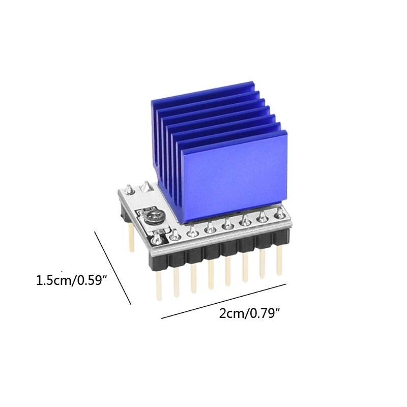 טלוויזיות 25 29 3D מדפסת Stepstick S109 מנוע צעד Driver TB67S109 תואם 57 מנוע צעד / Pololu סיכה ההגדרה VS LV8729 E65A (2)