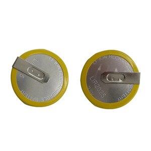 Image 2 - RIOOAK 10/20/50/100pcs Rechargeable LIR2025 Battery 3.6V For BMW key e46 e39 e36 e38 e34 Remote Car Key Shell Cover Case Battery