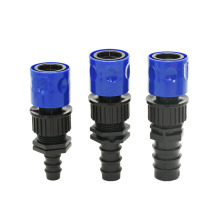 16mm 20mm 25mm irrigation garden hose connector DN10 DN15 DN20 hose water Quick connector fittings 1pcs