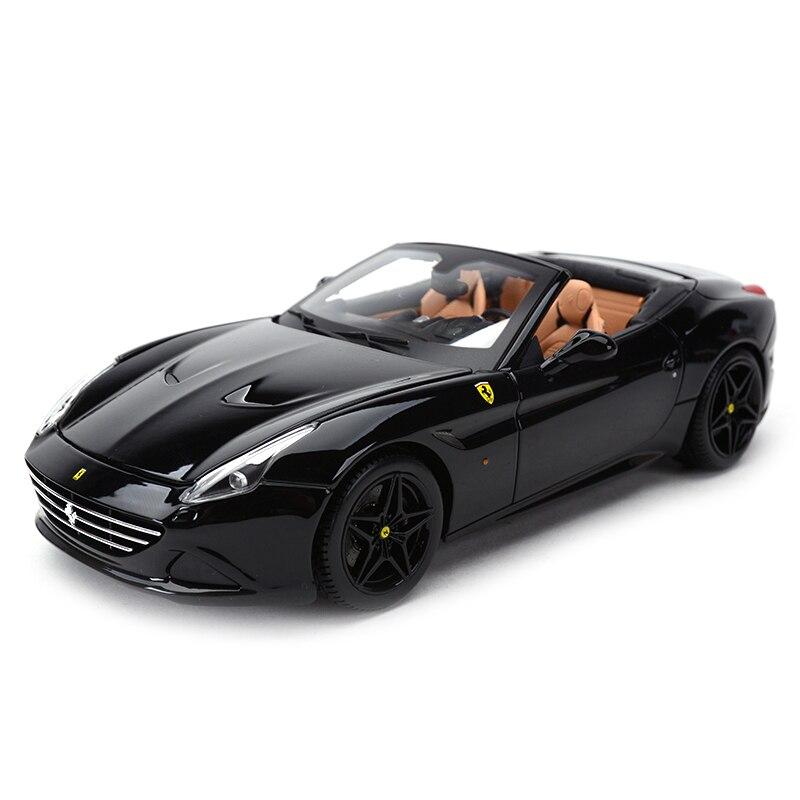 Bburago 1:18 California T Open Top Refined Version Sports Car Static Simulation Diecast Alloy Model Car