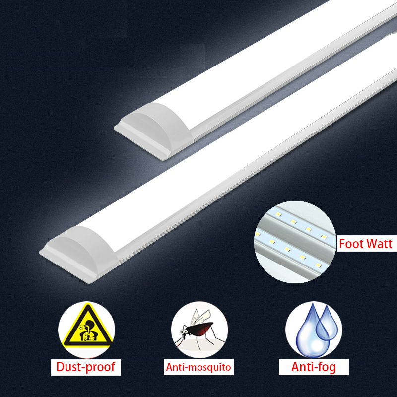 Led Tube 10-40W LED Batten Linear Light Bar Fluorescent Tube Lamp 30-120CM LED Tri-proof Light Purified Tube Lamp T5led Tube
