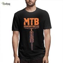 Hot Sale Man MTB Mountains Bike Camiseta Geek Custom O-neck For