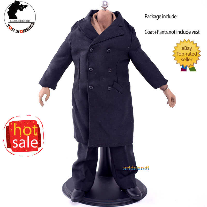 "1//6 Scale black jacket Motorcycle clothing Coat Model For 12/"" Figure Doll"