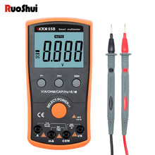 Ruoshui 85 b цифровой мультиметр Высокая точность Авто Диапазон