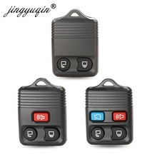 jingyuqin 25pcs/lot 2/3/4 Buttons Fob Remote Key Shell For Ford Focus Complete Escape Mustang Explorer Lincoln Town Sport