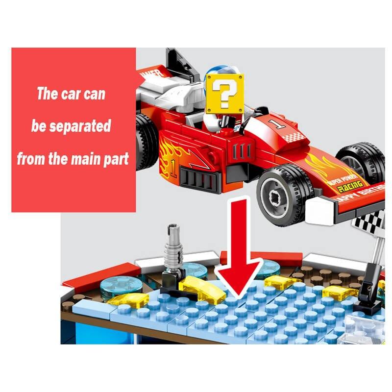 senbao bloco blocos de construcao para carro 04