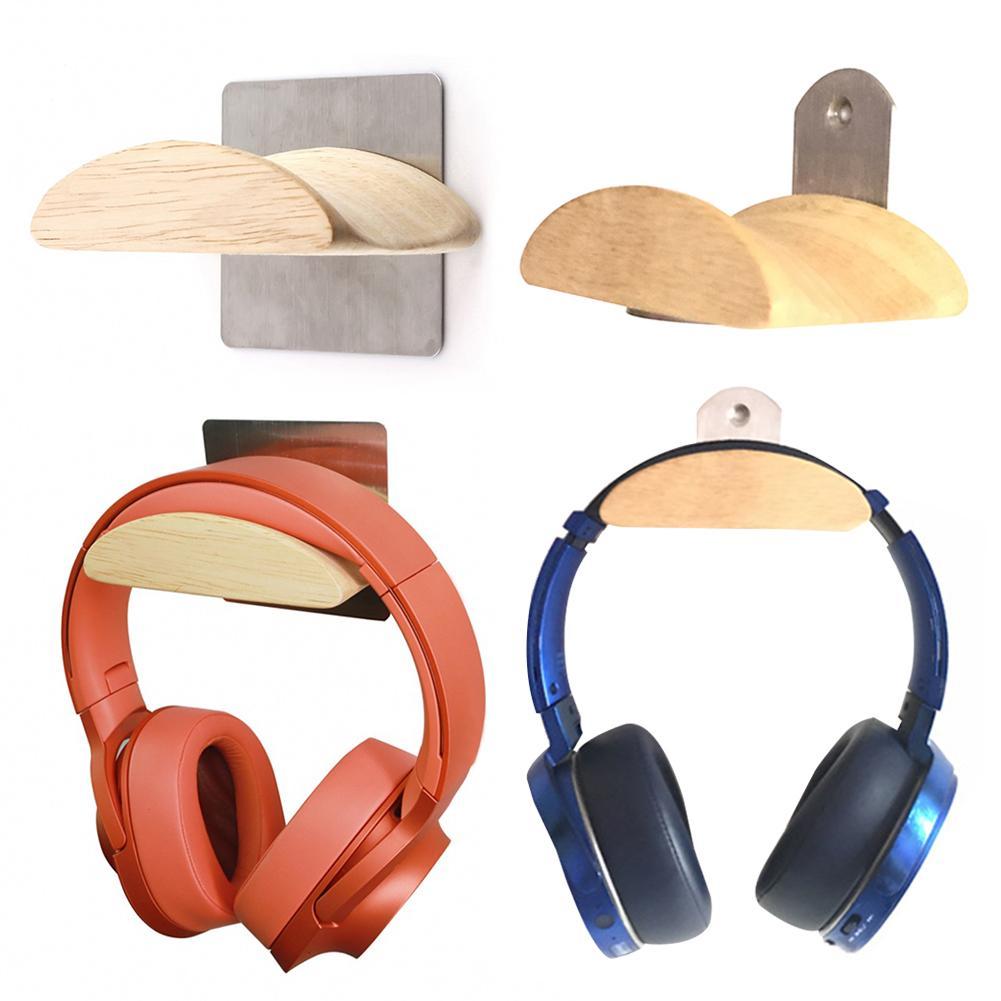 Wall Mounted Pemegang Headset Gameing Headphone Rak Inovatif Kayu Earphone Holder Retro Bera Headphone Gantungan Earphone Aksesoris Aliexpress