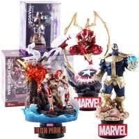 Marvel Avengers Original Spiderman Iron Man 014 Thanos 015 Eisen Spider-man Spiderman Action Figure Sammeln Modell Spielzeug