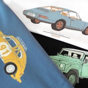 Image 4 - SIMWOOD 2020 summer new jeep print t shirt men 100% cotton letter back short sleeve t shirt plus size top tees SI980799