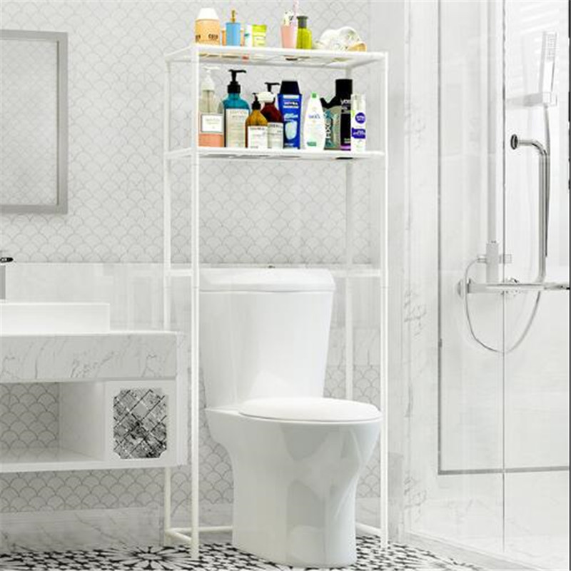 2019 Bathroom Shelf Washing Machine Toilet E Saving Storage Rack 2 Layers White Organizer From Bowstring 85 37 Dhgate Com