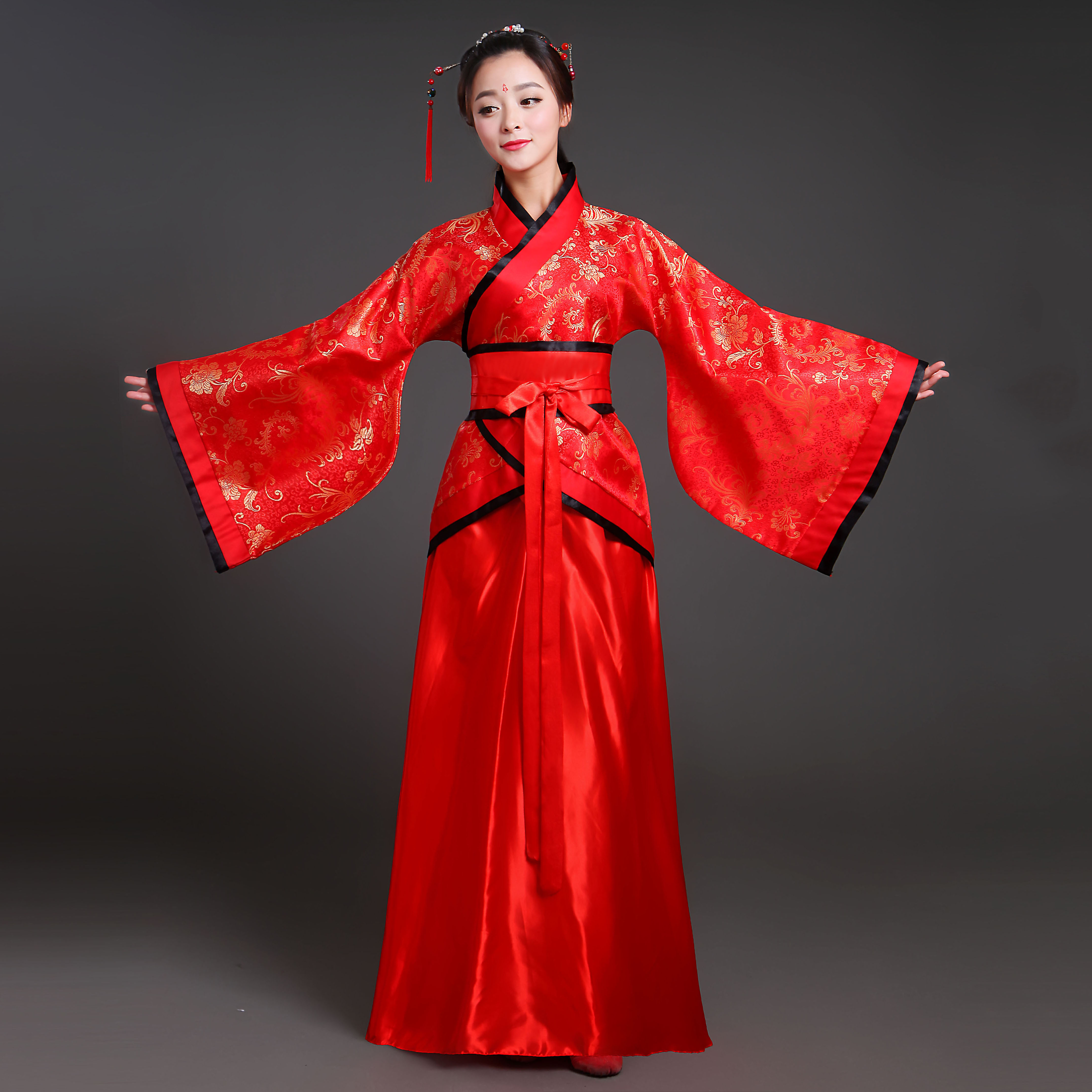 2019 Hanfu National Costume Ancient Chinese Cosplay Costume Ancient Chinese Hanfu Women Hanfu Clothes Lady Chinese Stage Dress