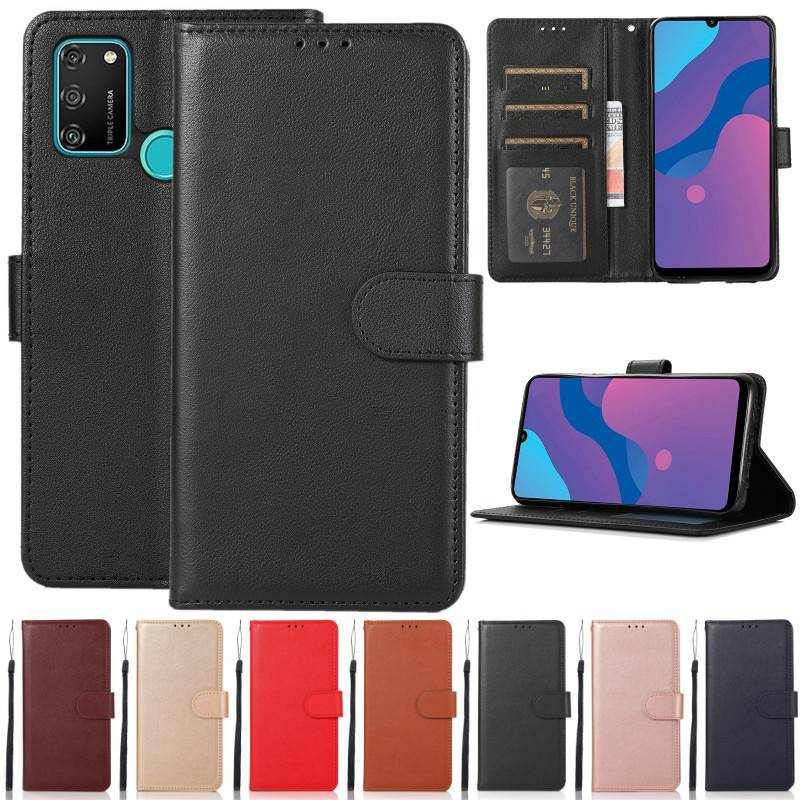 Кожаный чехол-книжка для Huawei P8 P9 P10 P20 P30 P40 Lite Pro P Smart, чехол-кошелек для Huawei Y5 Y6 Y7 2018 2019 Y5P Y6P Y7P