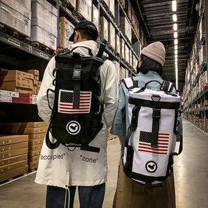 Image 5 - Plecak na siłownię worek marynarski na siłownię sportowy plecak dla koszykarza Sportsbag dla kobiet miłośnicy Fitness Travel Mochila Yoga torba na ramię 2020