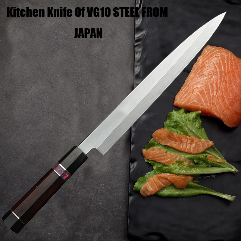 Japan s 2 layer VG10 Composite steel knife Filleting knives Yanagiba sashimi Sushi Japanese cooking Cleaver Slicing Petty