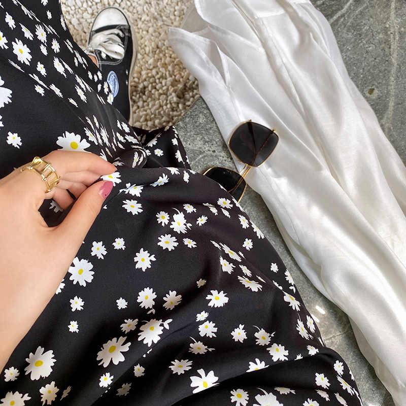 Mishow 2020 新春のスカートの女性ファッションルーススリムミッドふくらはぎ花プリントaラインエレガントな女性ボトムMX20B1738