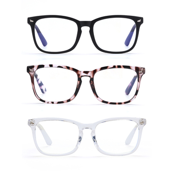 1PC Fashion Anti-Blu-ray Glasses Unisex Video Game Blu-ray Blocking Glasses Office Computer Goggles image