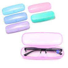 Etui na okulary przezroczysty PVC kobiety mężczyźni plastikowe okulary przeciw słoneczne pudełko na okulary nowy etui na okulary etui na okulary etui na okulary etui na okulary tanie tanio CN (pochodzenie) Unisex 3 5cm Stałe Walizki i torby Akcesoria do okularów 15cm Eyewear Cases