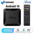 ТВ-приставка X96Q, Android 10,0, четырехъядерный Allwinner H313, 4K, HD, 2,4 ГГц, Wi-Fi, 2 + 16 Гб