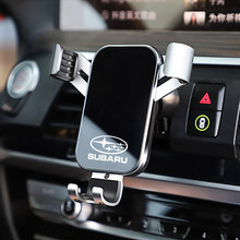 1 pçs suporte do telefone do carro gravidade sensing aperto automático universal para subaru forester tribeca legacy impreza mpreza xv brz wrx