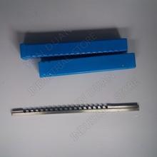 Keyway Broach 3mm  A Push Type High speed steel HSS Cutting Tool for CNC Broaching machine Metalworking