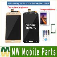 Originale Per Samsung Galaxy J3 2017 J330 J330FN SM-J330FN Display LCD Con Sensore di Tocco di Vetro Digitizer Assembly con kit