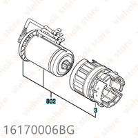 DC 18V motor for BOSCH GBH18V EC RHH181 GBH18V LI RHH180 16170006BG Cordless Hammer Drill Power Tool Accessories Electric tools