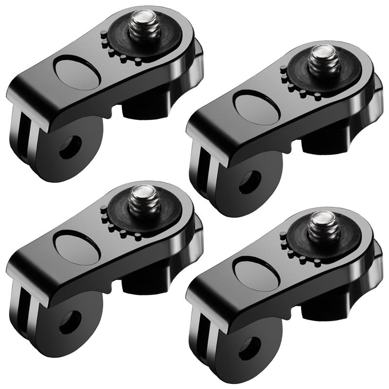 Universal Conversion Adapter (1/4 Inch 20) Mini Tripod Screw Mount FOR Fixing Gopro Accessories To Olympus And Other Action