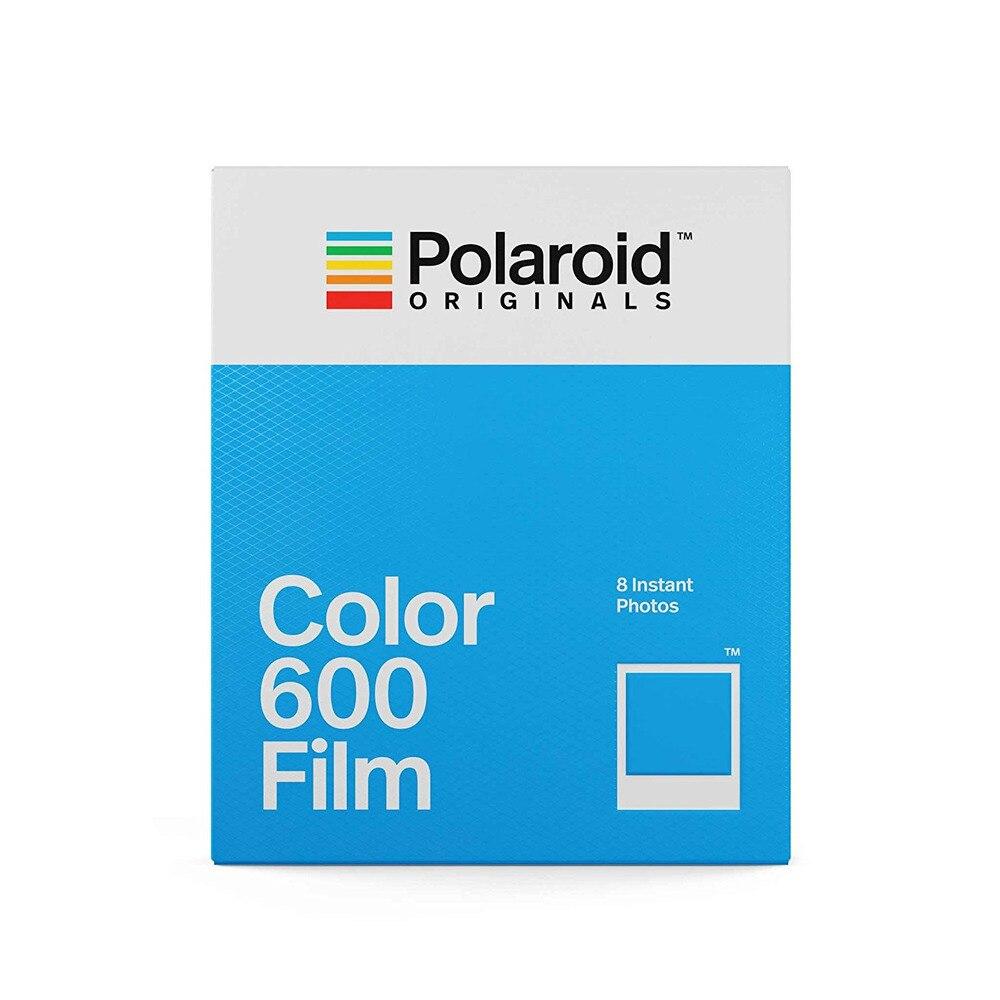 Originaux couleur 600 Film 8 feuilles Photos instantanées blanc cadre papier pour Vintage 600 636 gros plan OneStep i-type caméras pour voyage - 2